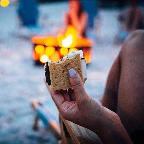 30a destin wedding bonfires
